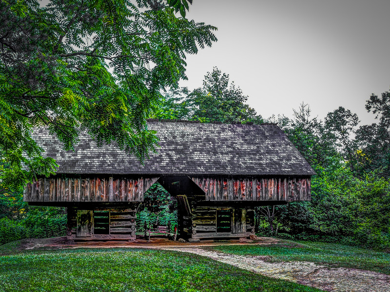 2016 06 30 Cades Cove HDR Houses DSC_8552_3_6_fused