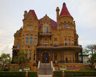 Bishop's Palace in Galveston Texas May 2009