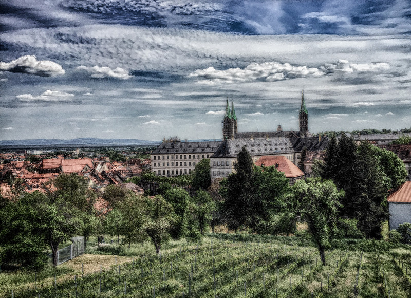 Bamberg's Dom in HDR