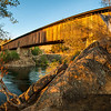 Knights Ferry Covered Bridge. HD panorama comprised of 10 vertical images stitched together for a total of 8435 x 4635 pixels!
