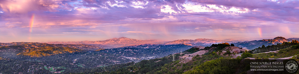 Tuyshtak (Mt. Diablo) Super-HD Panorama