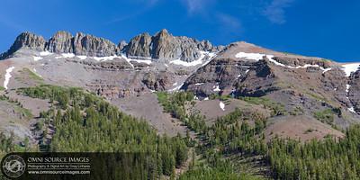 Night Cap Peak - Sonora Pass HD-Panorama