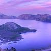 Crater Lake Sunset - Super HDR Panorama (12,821 x 4274 pixels/300dpi)