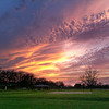 """Five Minutes Later<br /> This image was taken about five minutes after """"A Hard Sunset to Shoot"""". Every portion of the sky seemed to change colors and intensity as the sun fell further behind the clouds."""