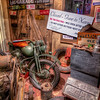 Jake's Garage<br /> The country is at war and nothing is the same as it used to be. Fathers, uncles and brothers have gone overseas to fight in this second World War, as some are in the Pacific, while others in Europe. Here at home, it's not unusual to find businesses closed while the owner is off to war, or their wife working the family business, trying to help it survive long enough until they return. <br /> Jake's Garage is another scene from the Home Front U.S.A. exhibit at the National Naval Aviation Museum in Pensacola, Florida.