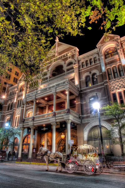 The Driskill Hotel<br /> The Driskill Hotel, completed in 1886,is the oldest operating hotel in Austin and one of the oldest in Texas.