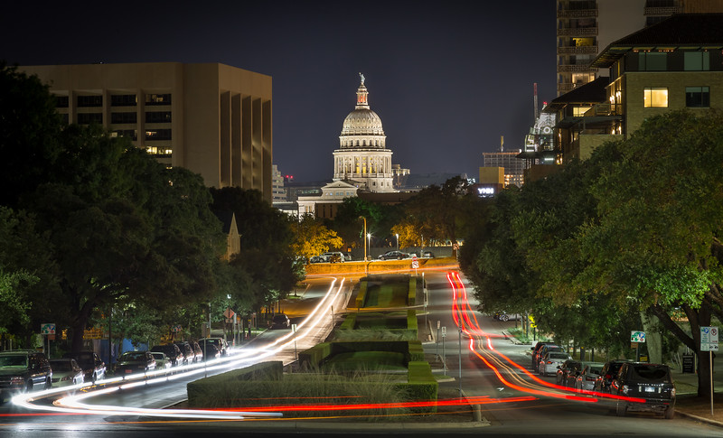 Austin Light Trails, by Tim Stanley.