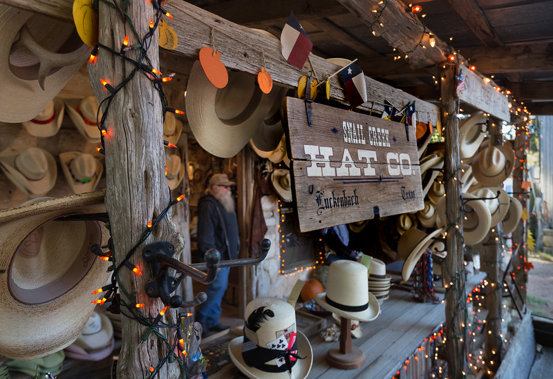 Snail Creek Hat Co. in Luckenbach, Texas