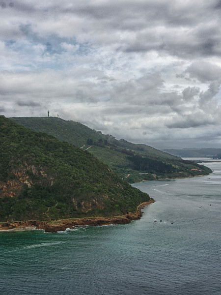 Near the the Heads - Knysna Lagoon