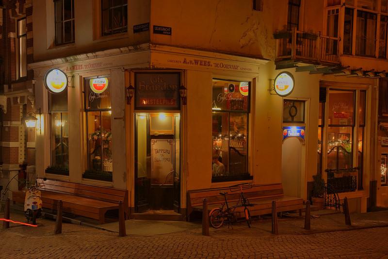 Café Brandon (corner Leliegracht / Keizersgracht)