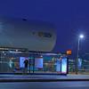 New bus terminal at Amsterdan Central Station