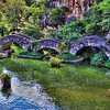Dragon Bridge, Japanese Tea Garden, Brackenridge Park, San Antonio, Texas