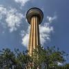 The Tower of Americas, located in HemisFair park in San Antonio, Texas