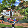 "The Arneson River Theatre, located in La Villita on the Riverwalk in San Antonio, Texas. The theatre was established 1939 and was also featured in the movie ""Miss Congeniality""."