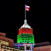 "Tower Life Building with Christmas lighting in San Antonio, Texas.<br /> <br /> For more information about this photo, please visit my blog post: <a href=""http://brianmoranhdr.blogspot.com/2010/11/tower-life-building-with-christmas.html"">http://brianmoranhdr.blogspot.com/2010/11/tower-life-building-with-christmas.html</a>"