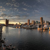 "Looking across the Inner Harbor in Baltimore, Maryland, during sunset.<br /> <br /> If you would like to read more about this photo, please visit my blog post:<br /> <br /> <br />  <a href=""http://brianmoranhdr.blogspot.com/2011/11/inner-harbor-sunset.html"">http://brianmoranhdr.blogspot.com/2011/11/inner-harbor-sunset.html</a>"