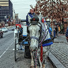 "Horse wearing a Phillies hat and tie pulling a horse-drawn carriage in Philadelphia, Pennsylvania.<br /> <br /> For more on this photo, please visit my blog post:<br /> <br />  <a href=""http://brianmoranhdr.blogspot.com/2010/12/two-shots-from-philadelphia.html"">http://brianmoranhdr.blogspot.com/2010/12/two-shots-from-philadelphia.html</a>"