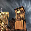 """A night shot of a clock tower along the Riverwalk in San Antonio, Texas.<br /> <br /> For more on this photo, please visit my blog post:<br /> <br /> <br />  <a href=""""http://brianmoranhdr.blogspot.com/2011/02/save-clock-tower.html"""">http://brianmoranhdr.blogspot.com/2011/02/save-clock-tower.html</a>"""