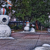"Snowmen playing football at Sea World San Antonio in San Antonio, Texas.  This display is part of Sea World's Christmas Celebration.<br /> <br /> For more information about this photo, please visit my blog post: <a href=""http://brianmoranhdr.blogspot.com/2010/11/sea-world-san-antonio-christmas.html"">http://brianmoranhdr.blogspot.com/2010/11/sea-world-san-antonio-christmas.html</a>"