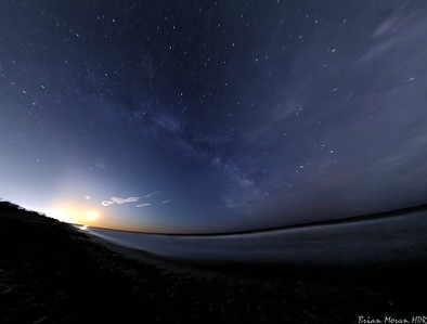 Partly Cloudy Milky Way