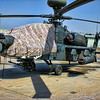 Apache on the flight line at Baghdad International Airport in 2007