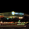 Night shot of the ATT Center in San Antonio, Texas, following the first San Antonio Rampage game of the 2010-2011 season.