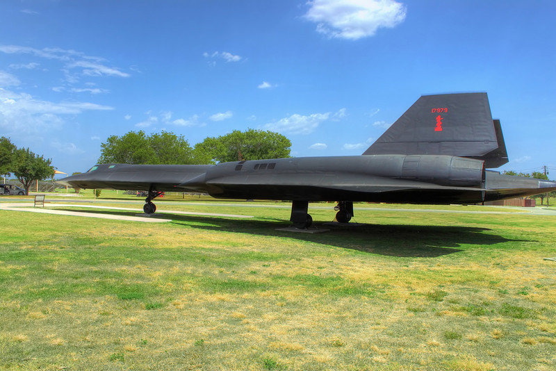 One more shot of the SR-71, located on Lackland AFB, San Antonio, Texas.