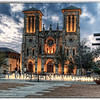 """Sunset outside of San Fernando Cathedral in downtown San Antonio, Texas.<br /> <br /> For more on this photo, please visit my blog post:<br /> <br /> <br />  <a href=""""http://brianmoranhdr.blogspot.com/2011/03/yellow-rose-alamo-and-san-fernando.html"""">http://brianmoranhdr.blogspot.com/2011/03/yellow-rose-alamo-and-san-fernando.html</a>"""