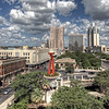 "Downtown San Antonio, during the day, from the parking garage located behind Rio Rio Cantina.<br /> <br /> If you would like to read more about this photo, please visit my blog post:<br /> <br /> <br />  <a href=""http://brianmoranhdr.blogspot.com/2011/09/downtown-during-day.html"">http://brianmoranhdr.blogspot.com/2011/09/downtown-during-day.html</a>"