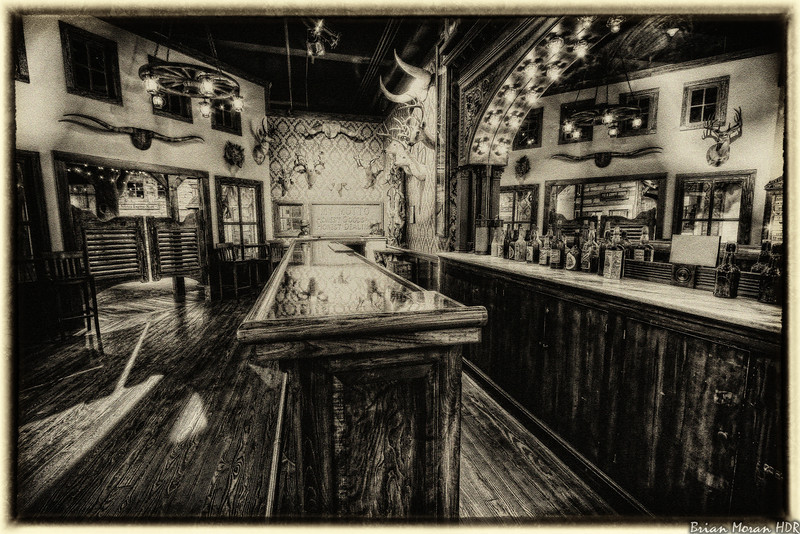 """""""Old Fashioned Friday"""" shot of the retro Buckhorn Saloon located in the Buckhorn Saloon and Museum and Texas Ranger Museum located in San Antonio, Texas.<br /> <br /> For more on this photo, please visit my blog post:<br /> <br /> <br />  <a href=""""http://brianmoranhdr.blogspot.com/2011/03/old-fashioned-friday-retro-buckhorn.html"""">http://brianmoranhdr.blogspot.com/2011/03/old-fashioned-friday-retro-buckhorn.html</a>"""