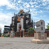 "The Eutaw Street entrance to Oriole Park at Camden Yards, home of the Baltimore Orioles, in Baltimore, Maryland.<br /> <br /> The Orioles set up a tribute for players that played for the team and had their numbers retired.  In this shot you can see 22 (Jim Palmer), 5 (Brooks Robinson), and 8 (Cal Ripken, Jr) as well as a statue of Babe Ruth, who was born in Baltimore, and according to legend grew up in his parents bar which was located in the present day outfield at the park.<br /> <br /> If you would like to read more about this photo, please visit my blog post:<br /> <br /> <br />  <a href=""http://brianmoranhdr.blogspot.com/2011/08/oriole-park-at-camden-yards.html"">http://brianmoranhdr.blogspot.com/2011/08/oriole-park-at-camden-yards.html</a>"