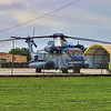 MH-53 Pave Low helicopter near the Pararescue training area on Medina Annex, Lackland AFB, San Antonio, Texas.