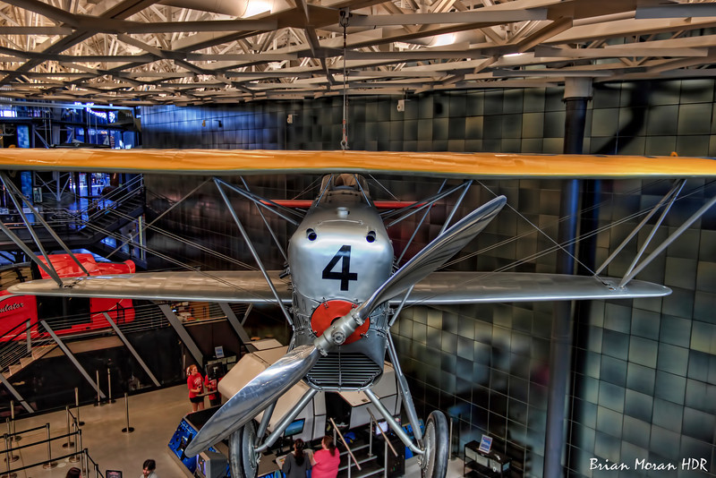 Boeing FB-5 on display at the Steven F. Udvar-Hazy Center, Smithsonian Air and Space Museum, near Dulles International Airport.