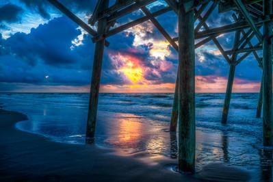 Blue Morning Sunrise