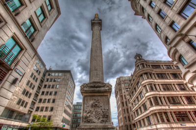 The_monument_London_HDR