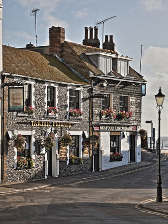 Tartar Frigate Pub at Broadstairs Harbour, Kent