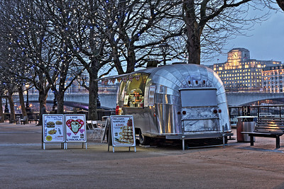 Canteen Caravan on the Southbank, London