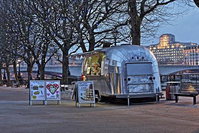 Canteen Caravan on the Southbank, London