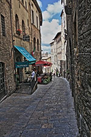 Cobbled Streets - Volterra, Tuscany, Italy