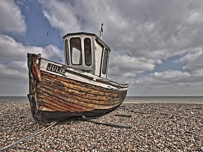 Fishing boat 'Julie' - Walmer Beach
