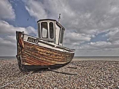 Fishing boat 'Julie' - Walmer Beach