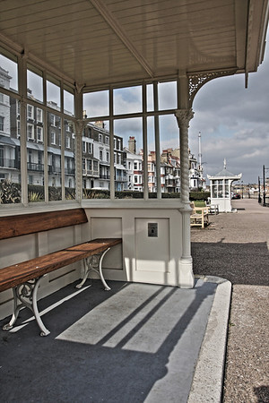 Refurbished Edwardian Shelter