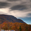 HDR photo of Stony Man Mountain. Can you see the man's face in the profile of the mountain?