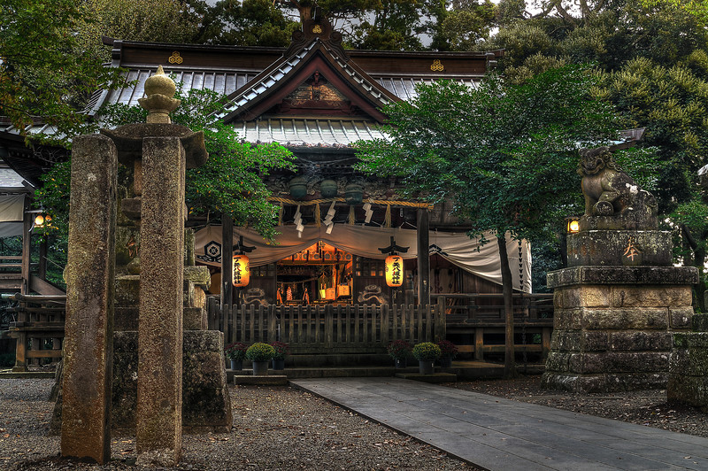 一ノ矢八坂神社 [Ichinoya Yasakani Shrine]. Tsukuba.