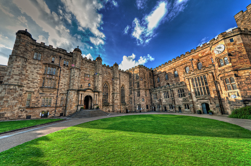 Durham Castle - courtyard