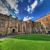 Durham Castle - courtyard