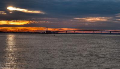 Longport Sunset Dec 09