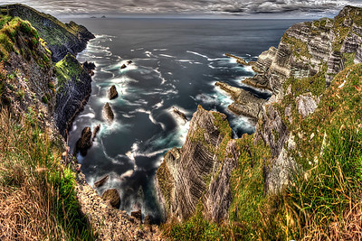 Ireland Skellig Cliffs Lng Exposure