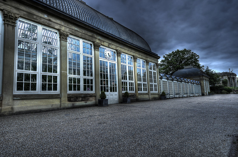 Glass Pavilions