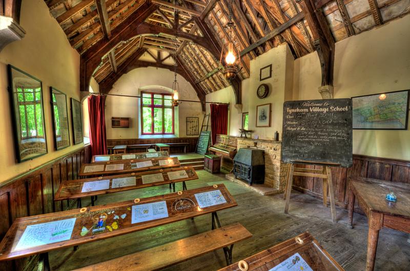 School Room,  Tyneham, Dorset